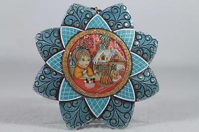 G. DeBrekht-Russia Gingerbread Snowfall' Ornament Girl Dec #6102192 New In Box!