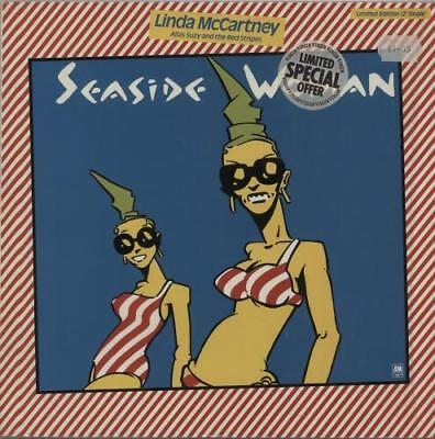 "Suzy And The Red Stripes Seaside Woman UK 12"" vinyl single record (Maxi)"