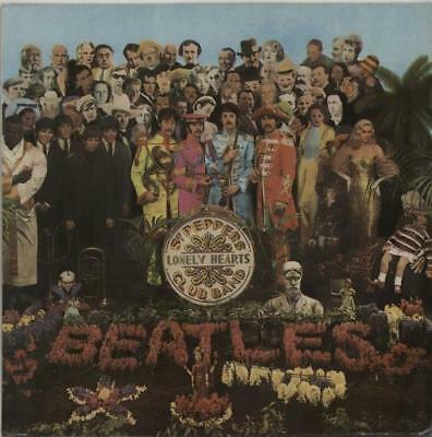 Beatles vinyl LP album record Sgt. Pepper's Lonely Hearts Club Band Indian
