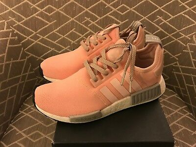 ffc44de0f Adidas NMD R1 Vapour Pink BY3059 Off White Royal Max 97 Yeezy Boost NBA Sz  9.5