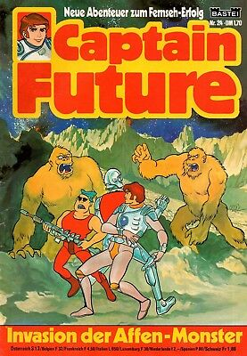 CAPTAIN FUTURE Comic # 24: Invasion der Affen-Monster
