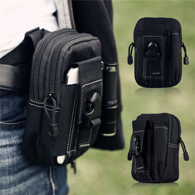 Tactical Molle Pouch-Belt Waist Pack Bag Military Waist Fanny Pack Phone Pocket