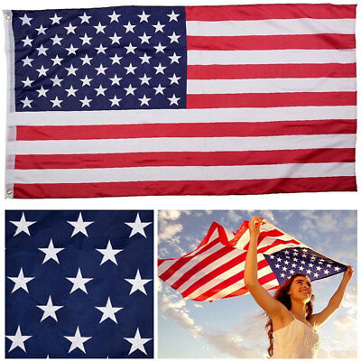 American Flag 3x5 ft US Star Stripe USA Flags Polyester United States of America