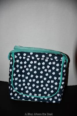Thirty One Going Places Thermal in Navy Doodle Dot NEW