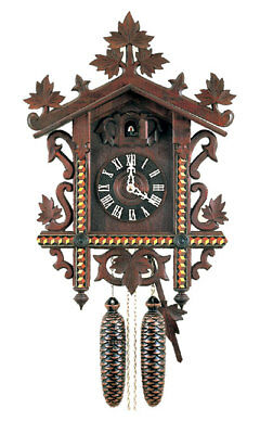 Herr 763-8 Cuckoo Clock.. New! (Authentic German/black Forest)