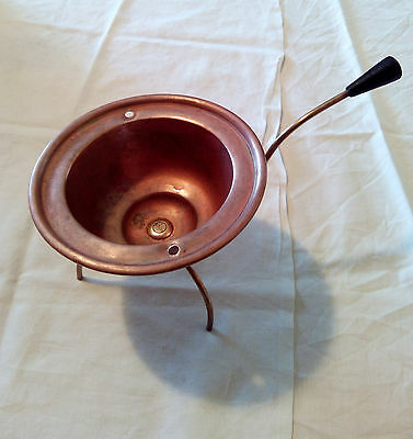 Olla Cobre 3 pies Antiguo - Antique Copper Cooking Pot with 3 legs - Vintage