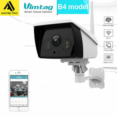 Vimtag B4 outdoor 1080P FHD Wireless IP Camera WiFi Pro Cloud Network Security