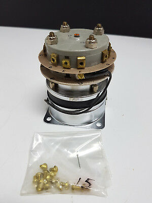 Potter and Brumfield MDR 129-4 Rotary Relay Switch 5945-00-642-5419