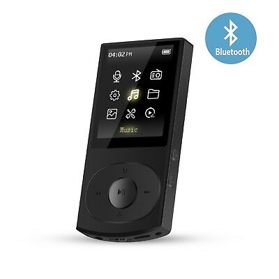 Mp3 Player with Bluetooth 4.0 AGPTEK C3 8GB Metal Music Player Mp3 Lossless S...