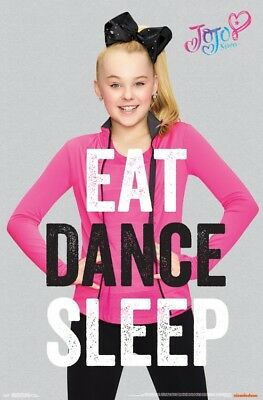 JoJo Siwa (Big Bow) - Eat Dance Sleep POSTER 61x91cm NEW dance moms