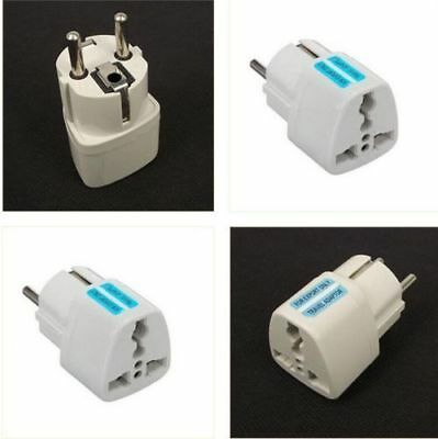 Universal US UK to EU Euro Plug AC Power Travel Home Charger Converter Adapter A