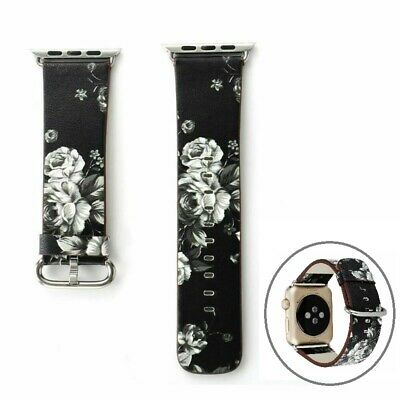 Colorful Leather Buckle Band iWatch Strap 38mm/42mm For Apple Watch Series 3 2 1