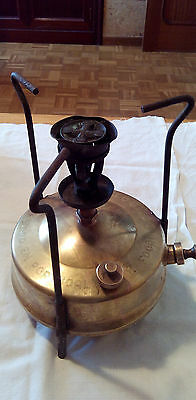 Hornillo Petróleo Antiguo Bronze - Bronce Burner Stove Petrol - Antique Vintage