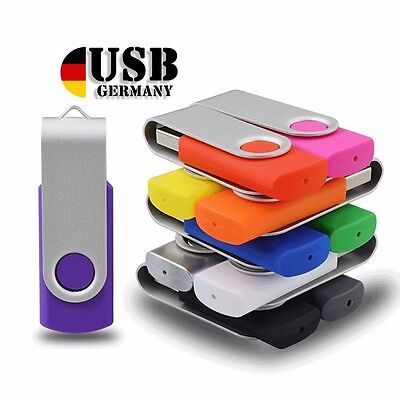 64GB 32GB 16GB 8GB 4GB 2GB 1GB USB Memory Stick Swivel  Flash Drive 2.0 lot