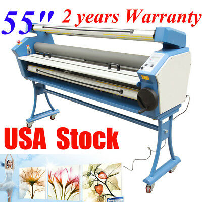 """USA Stock 55"""" Entry Level Full-auto Heat Assisted Wide Format Cold Laminator"""