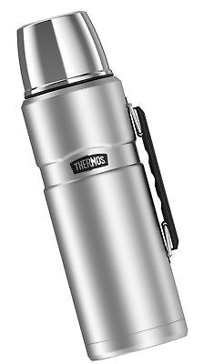 Thermos Stainless King 68 Ounce Vacuum Insulated Beverage Bottle with Handle ...
