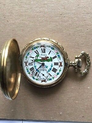ANTIQUE/VINTAGE ARNEX 17J  INCABLOC POCKET WATCH - Just Reconditioned