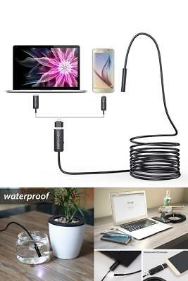 EndoSnake 5.5mm Endoscope Cam Waterproof Borescope Inspection Smart HD Camera