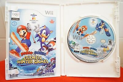 Mario and Sonic at the Olympic Games (Nintendo Wii Game) Complete Tested