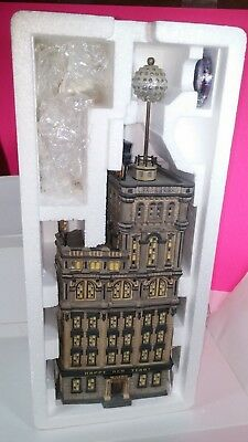 Department 56 Times Tower 2000 Special Edition Ball Drop Gift Set Retired