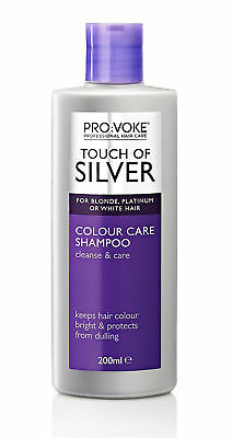 Touch Of Silver Colour Care Shampoo 200ml For blonde, grey or white hair