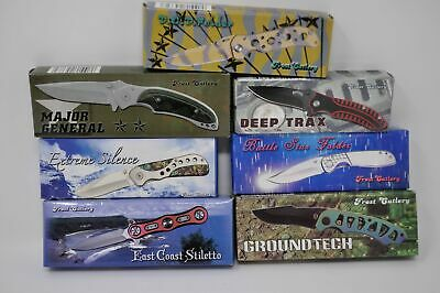 Lot of 7-Tactical Folding Pocket Knife Knives Hunting- Frost Cutlery (4750)