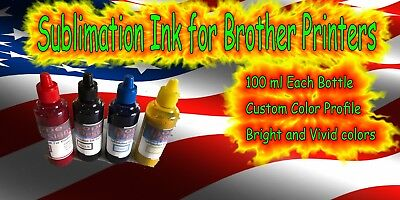Sublimation Ink for Brother Printers
