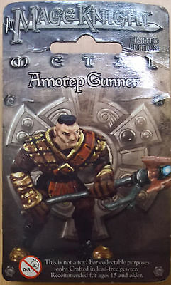 WizKids Mage Knight Metal - 516 Amotep Gunner Limited Edition (Sealed)