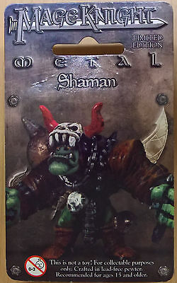 WizKids Mage Knight Metal - 538 Shaman Limited Edition (Sealed)