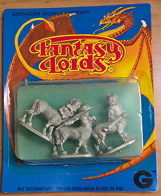 Grenadier Fantasy Lords - 549 Evil Dwarf Centaurs (Sealed, Near Mint)