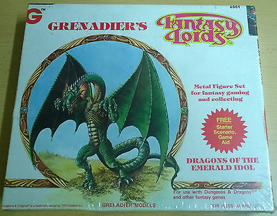 Grenadier Fantasy Lords - 6001 Dragons of the Emerald Idol (Mint, Sealed)