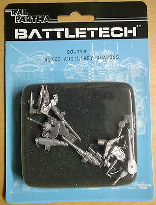 Ral Partha Battletech 20-744 Mixed Auxiliary Weapons (Mint, Sealed) *Unseen*