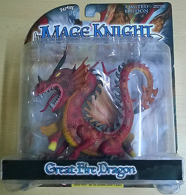 WizKids Mage Knight Rebellion Great Fire Dragon Limited Edition (Mint, Sealed)