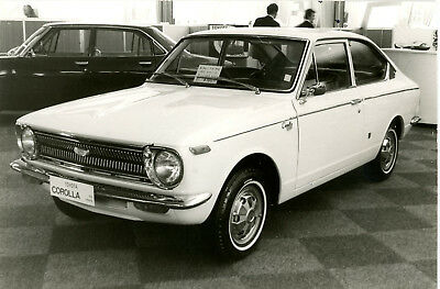 Toyota Corolla Coupe  197O   Period Press Photograph