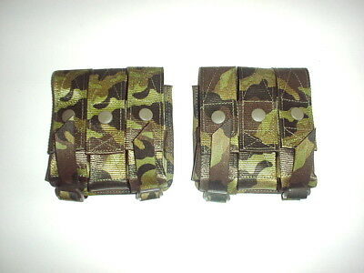 CZECH ARMY orig NPP-06 system 40mm grenade pouch in VZ95 pattern camo RARE NEW