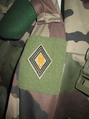 French Foreign Legion Etrangere -2 REP-patch NCOs diamond-shaped base visibility