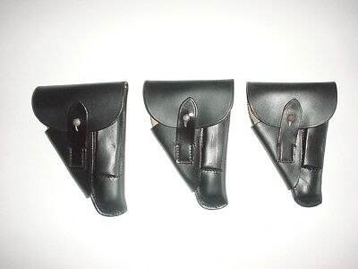 GERMAN ARMY WWII WW2 repro WALTHER PPK, HSC, black holster 1939 Czech made