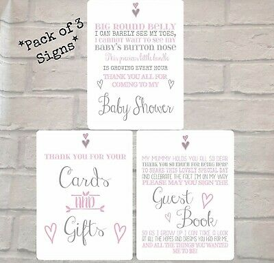 Bambino Baby Shower Guest Book Cute Party Memory Wishes Girl Boy Gift Boxed NEW