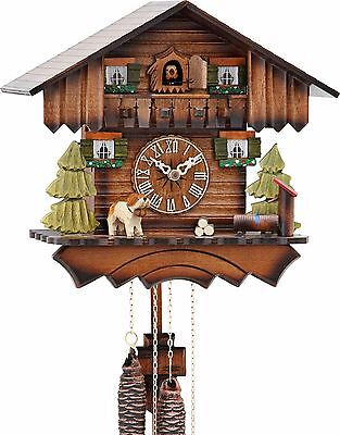 Hekas 1675 Cuckoo Clock.. New! (Authentic German/black Forest)