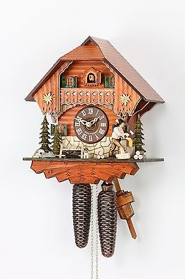 Hekas 890 Cuckoo Clock.. New!! (Authentic German/black Forest)