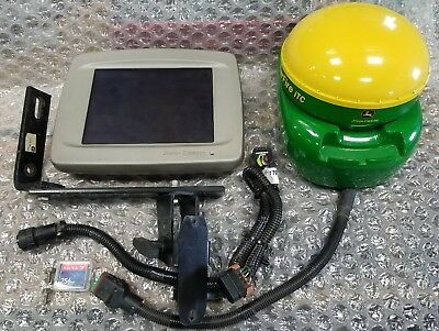 John Deere Greenstar Autotrac guidance system 2600 GS2 display Starfire ITC Gps