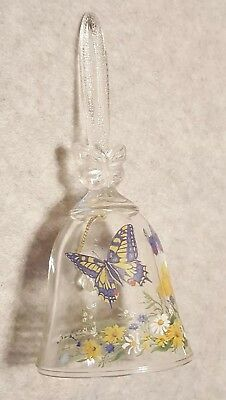 Avon Crystal Butterfly Bell (24%) Lead Crystal from Fine Collectibles