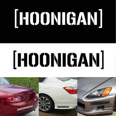 19*4cm Hoonigan Ken Block Drift JDM Car Stickers Decals for Motorcycle AUTO Car
