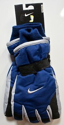 Nike - Youth Boy's Insulated Winter Snow Gloves - Gym Blue - Size 8/20 - NWT
