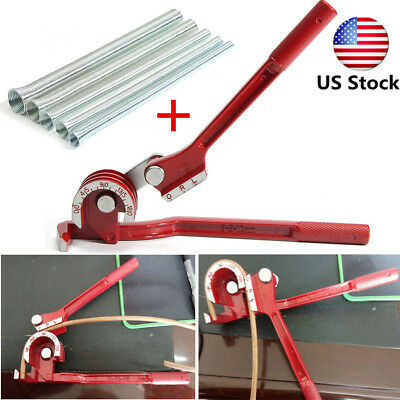 3 in 1 180° Bender Plumbing Copper Aluminium Pipe + 5 in 1 Spring Bending Tube