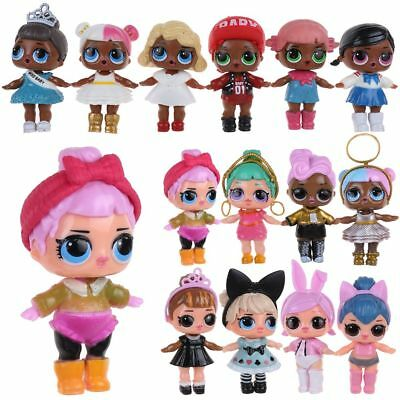 6/8Pcs LOL Surprise Doll Blind Mystery PVC Figure Cake Topper Kind Spielzeug DE