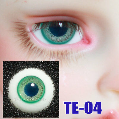 TATA glass eyes TE-04 14mm/16mm for BJD SD MSD 1/3 1/4 size doll use green