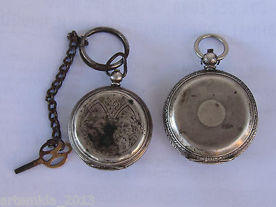 LOT of TWO  ANTIQUE VERY RARE  France POCKET WATCHES for OTTOMAN Empire