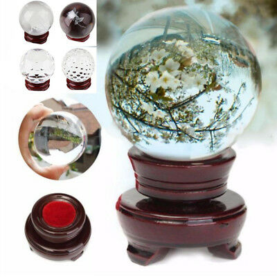 Creative Crystal Ball 40mm Wedding Table Decorations Christmas Wood Stand Kit