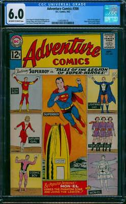 Adventure Comics # 300  Tales of the Legion Begins !  CGC 6.0 scarce book !